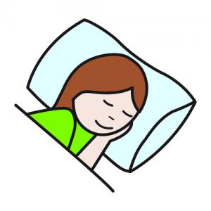 sueño-niña