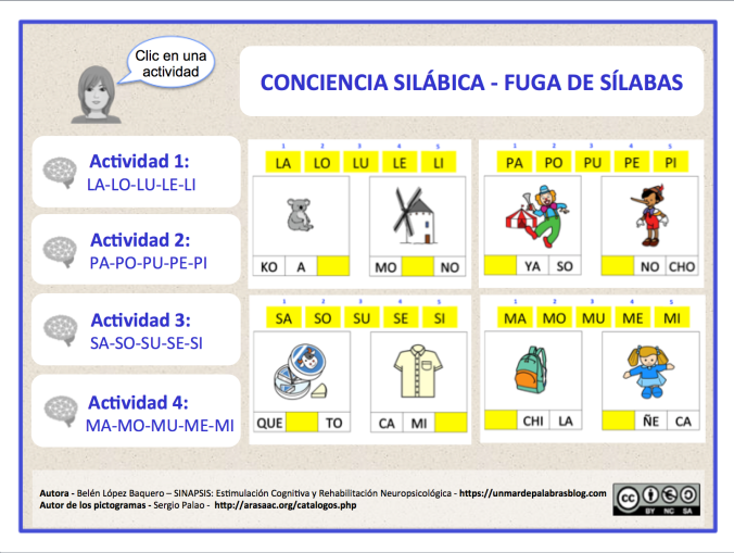 Conciencia silábica