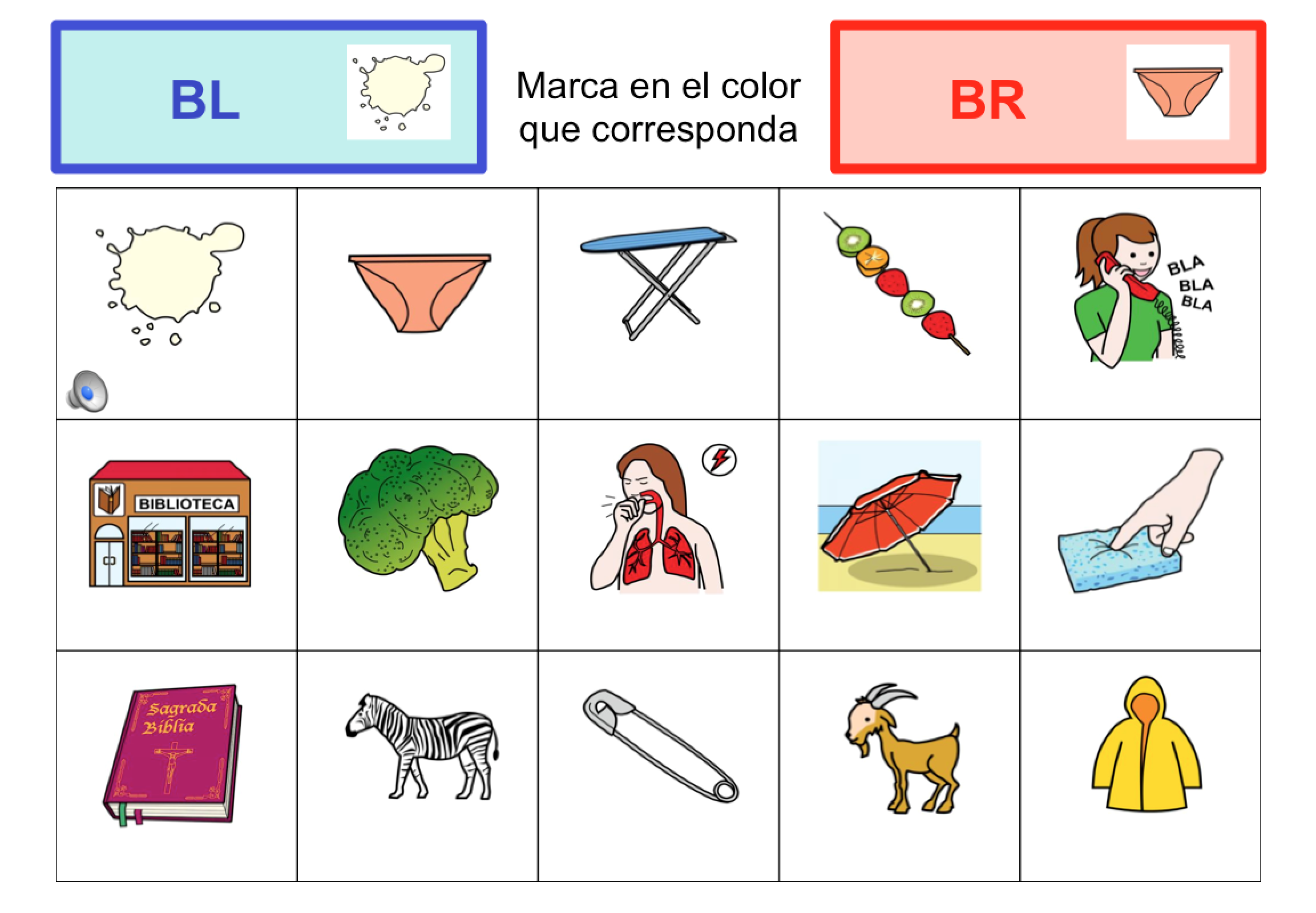 Dibujos Con La Trabada Br: DISCRIMINAR SÍLABAS TRABADAS: ¿L?¿R?